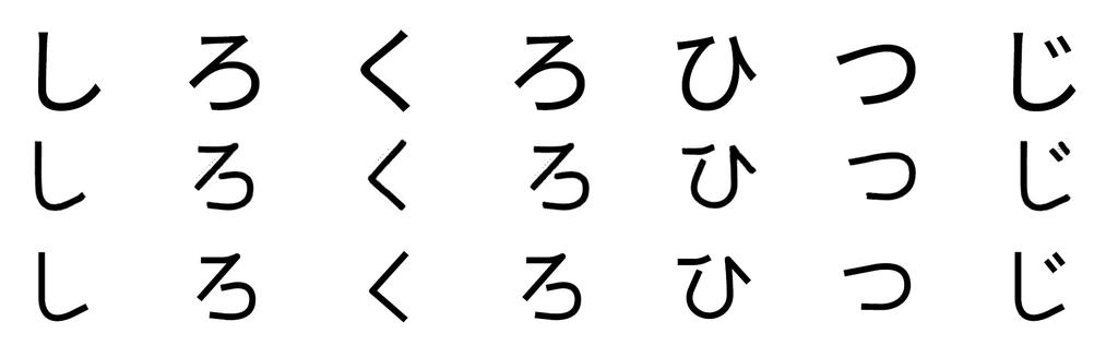 手書きフォントを作る(ためのツールを作る)②「zi2zi」で学習させてみる