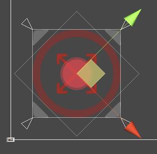 Rewired + Haptic Feedback Engineで押した感のあるバーチャルパッド実装